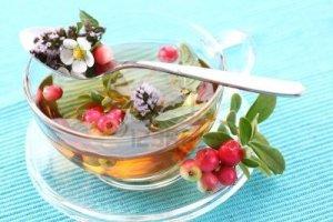 Tè bianco mirtilli