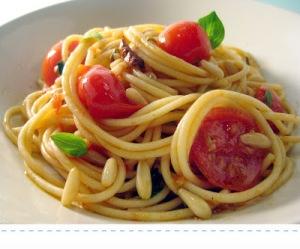 spaghetti pomodorini