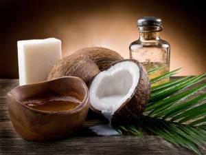 olio di cocco e cervello
