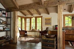 cottage muri pietra living