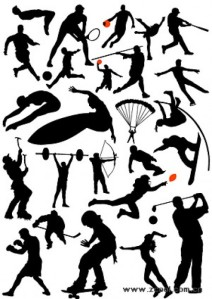 1675-all-kinds-of-sports-action-figures-silhouette